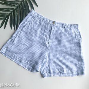 Lauren Ralph Lauren   Petite Gingham Print Shorts